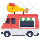 Chicken Transport Fast Icon