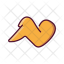 Fast Food Fried Chicken Icon