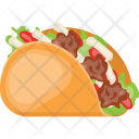 Chicken Wrap Food Icon