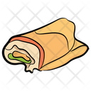 Chicken Wraps Icon