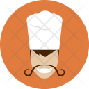 Chief Chef Cook Icon