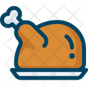 Chiken Meat Food Icon