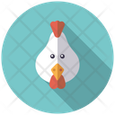 Chiken Bird Cattle Icon