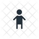 Male Child Baby Icon