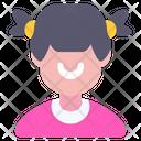 Child Woman Girl Icon