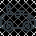 Child Car Toy Icon