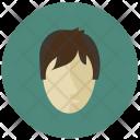 Child Boy Face Icon