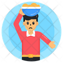 Child Construction Worker Icon