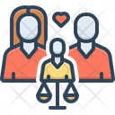 Child Custody Custody Childcare Icon