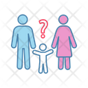 Worry Person Couple Icon