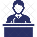Child Custody Witness Icon