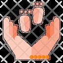 Child Footware Toe Baby Icon
