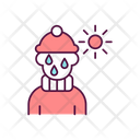Child In Inappropriate Clothes Icon