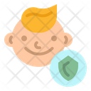 Kid Baby Insurance Icon