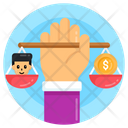 Child Labour Law Icon