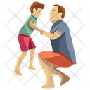 Child Playing Child Support Kids Play Icon