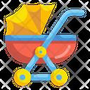 Child Stroller Icon