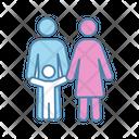 Family Child Parent Icon