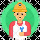 Mechanic Child Technician Child Engineer Icon