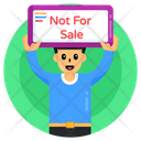 Not For Sale Human Trafficking Child Trafficking Icon