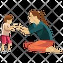 Child Walking Icon