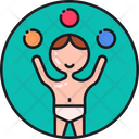 Childern Play Child Play Childhood Development Icon
