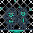 Children Kids Brood Icon