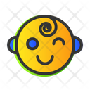 Children Fun Smile Icon