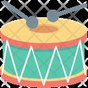 Children Drum Hand Icon