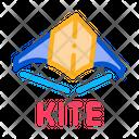 Children Kite Flying Icon