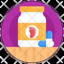 Pills Bottle Tablets Bottle Children Medicine Icon
