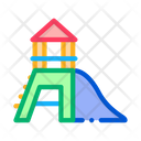 Attraction Children Slide Icon