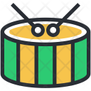 Childrens Drum Hand Icon