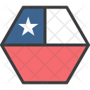 Chile Country Flag Icon
