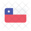 Chile Flag Country Icon