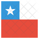 Chile National Country Icon