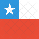Chile Flag World Icon