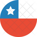 Chile Flag World Icon