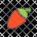 Chili Food Pepper Icon