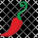 Chili Hot Plant Icon