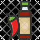 Chili Hot Sauce Icon