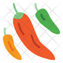 Chili Pepper Pepper Hot Icon