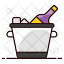 Chilled Wine Alcoholic Beverage Champagne Icon