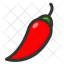 Chilli Hot Pepper Icon