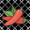 Chilli Hot Pepper Icon