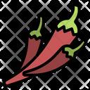 Chilli Pepper Spice Icon