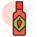 Chilly Sauce Tabasco Sauce Icon