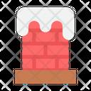 Christmas X Mas Chimney Icon