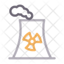 Chimney Nuclear Smoke Icon