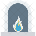 Chimney Fireplace Fireside Icon